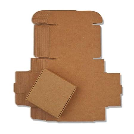 Caja de Papel Kraft de 54 tamaños, Color Blanco y Negro, Caja de ...