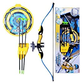 IndusBay® Big Size Archer Bow and Arrow Archery with Quiver and Target Board – 28 inch International Standard Archery…