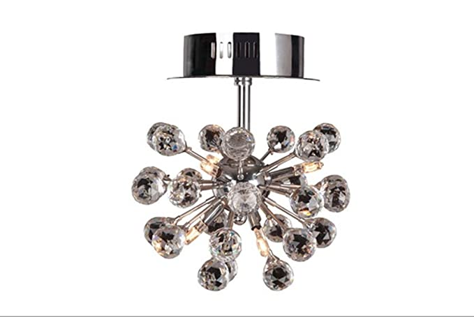 Amazon.com: WSND Crystal Ceiling Lamp Modern Chandeliers ...
