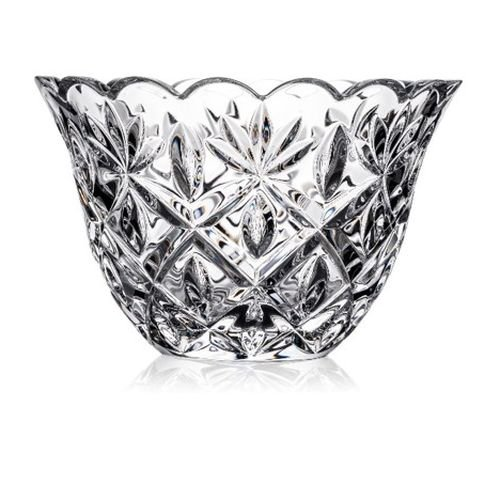 - Waterford Heritage Sara Crystal Serving Bowl Centerpiece, 7 Inches
