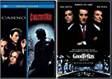 The Goodfellas & Casino + Carlito's Way Mob Crime collection Movie Set