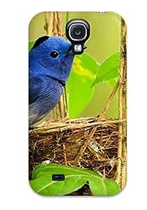 Hot Fashion QSyiYne1518ipCni Design Case Cover For Galaxy S4 Protective Case (mountain Bluebird)