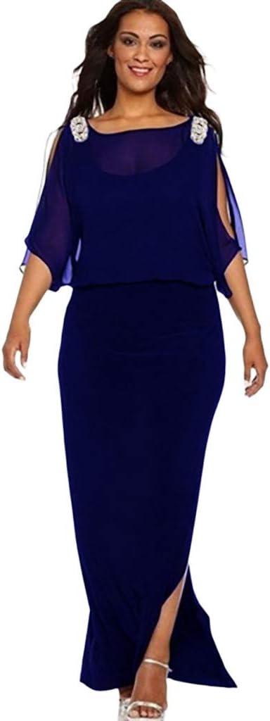 ZODOF Mujer Vestido de Trabajo Ajustado de Oficina de Trabajo de ...