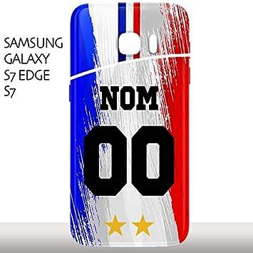 MYCOQUE Coque Samsung Galaxy S7 / S7 Edge Foot: Amazon.fr: High-tech