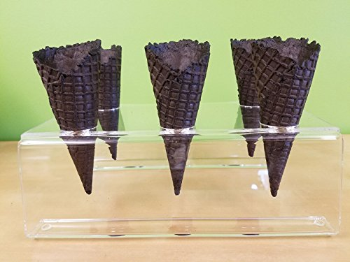 Cones (2.16'' X 5.5'') - 312 Units / Case (Black) by Altimate Foods (Image #3)