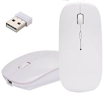 Ratón óptico Inalámbrico, EONANT Ratones Delgados sin Hilos Recargables del USB 2.4G con el