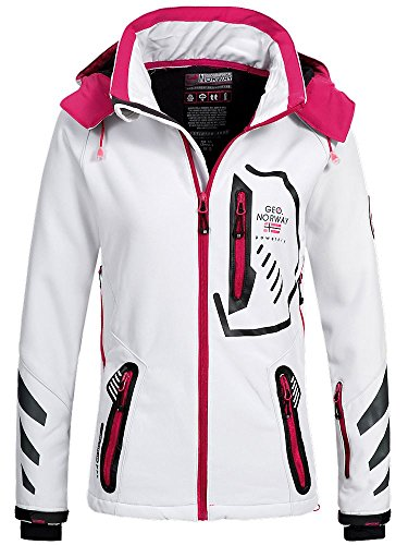 Bianco Geographical Norway Donna Norway Geographical Giacca wOXYRXqC