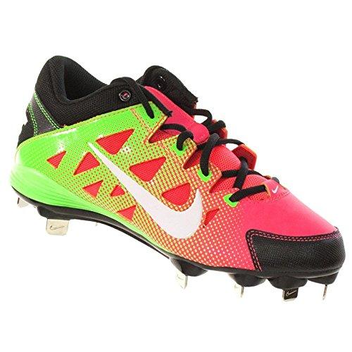 Nike Hyperdiamond Strike MTL Softball Cleats (8.5) Green