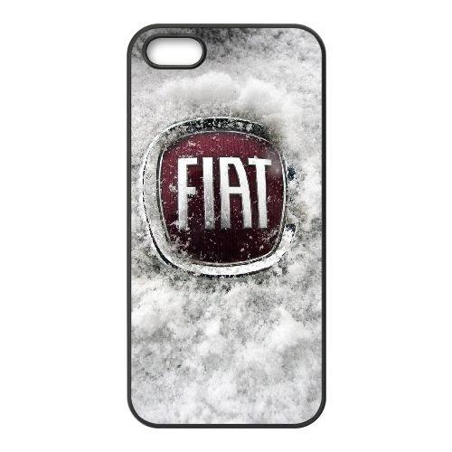 Fiat 002 coque iPhone 4 4S cellulaire cas coque de téléphone cas téléphone cellulaire noir couvercle EEEXLKNBC25050