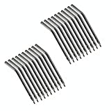 Pwhite 20pcs Metal Alloy Nozzles/tips/tube for 3-way Air Water Spray Syringe
