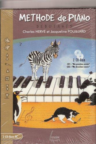 Partition : METHODE DE PIANO Débutants - CD rom PC - Piano - CDRom PC