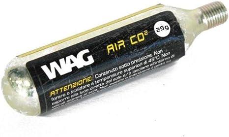 Wag bombona de CO2 de 25 gr con ribete (para bombona): Amazon.es ...