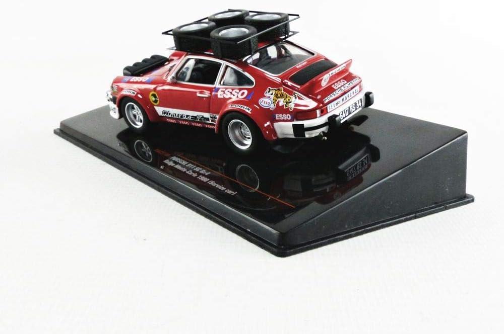 RAC274X Ixo Rouge//Blanc Voiture Miniature de Collection
