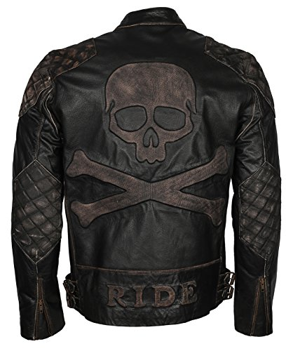 Mens Leather Motorcycle Jackets Sale - 2