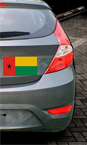 Amazon.com: INDIGOS UG - Sticker / Bumper / JDM / Die cut - Flag / Banner A-LS65G Guinea-Bissau - Guinea-Bissau 15 cm colored - flat: Automotive