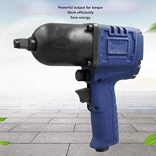Parfait KP-5122 Outils pneumatiques de clé à choc pneumatique de 1/2 pouce, clé à impact pneumatique Accessoire de matériel d'équipement de garage à couple élevé(KP-5122 Single)  kQji5