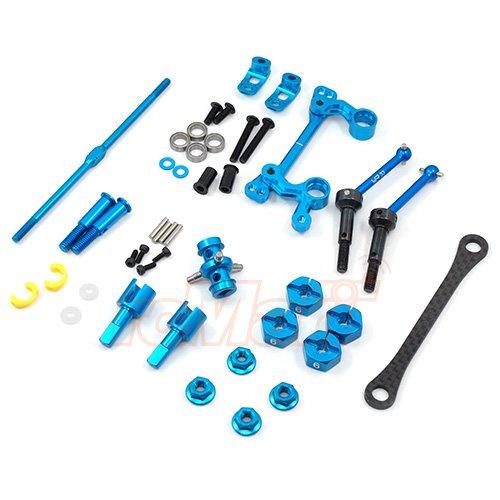 (Yeah Racing Drivetrain And Steering Upgrade Kit For Tamiya M05 M06 #TAMC-S02)