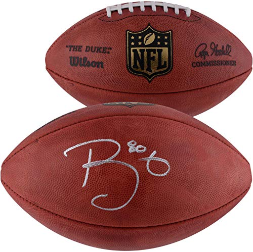 Trey Burton Chicago Bears Autographed Duke Pro Football - Fanatics Authentic Certified - Autographed Footballs
