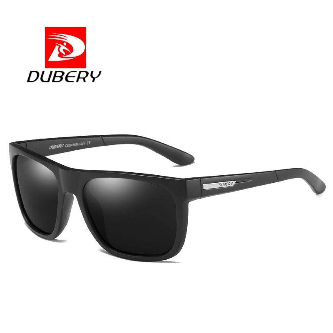 d09bc664db Amazon.com  DUBERY Sunglasses Men s Polarized Sunglasses Outdoor Driving  Men Women Sport Frame Fishing Hunting Boating Glasses (H 1)  Beauty