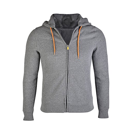 Duran Unisex Stylish Power Bank Heated Hoodie Jacket Use Your Own Power Bank