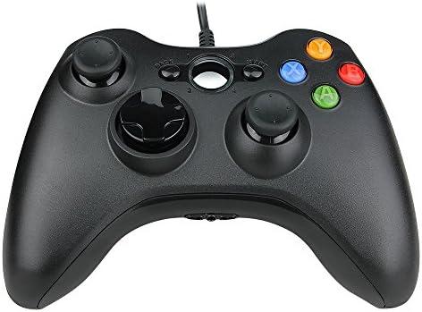 linkknow Prous XW03 PC Controlador Xbox 360 Cable USB Gamepad Compatible para Microsoft 360 Consola Windows