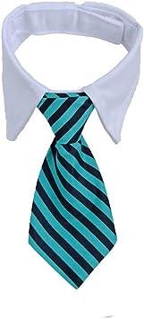 WeiMay. Corbata para Perro patrón de Raya Corbata decoración ...