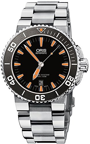 Oris-Mens-73376534159MB-Divers-Analog-Display-Swiss-Automatic-Silver-Watch