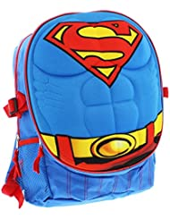Superman 3D Molded 16 Inch Cordura Backpack