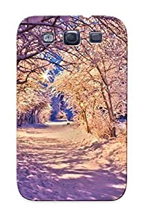 [NVJpitZ3183CXEyV]premium Phone Case For Galaxy S3/ Snowy Alley Tpu Case Cover(best Gift Choice)