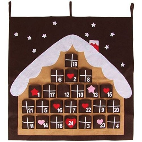 Adventskalender Weihnachtskalender zum Befüllen wiederverwendbar