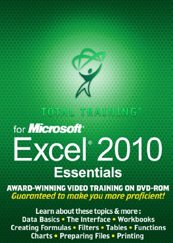 Total Training for Microsoft Excel 2010: Essentials [Download]