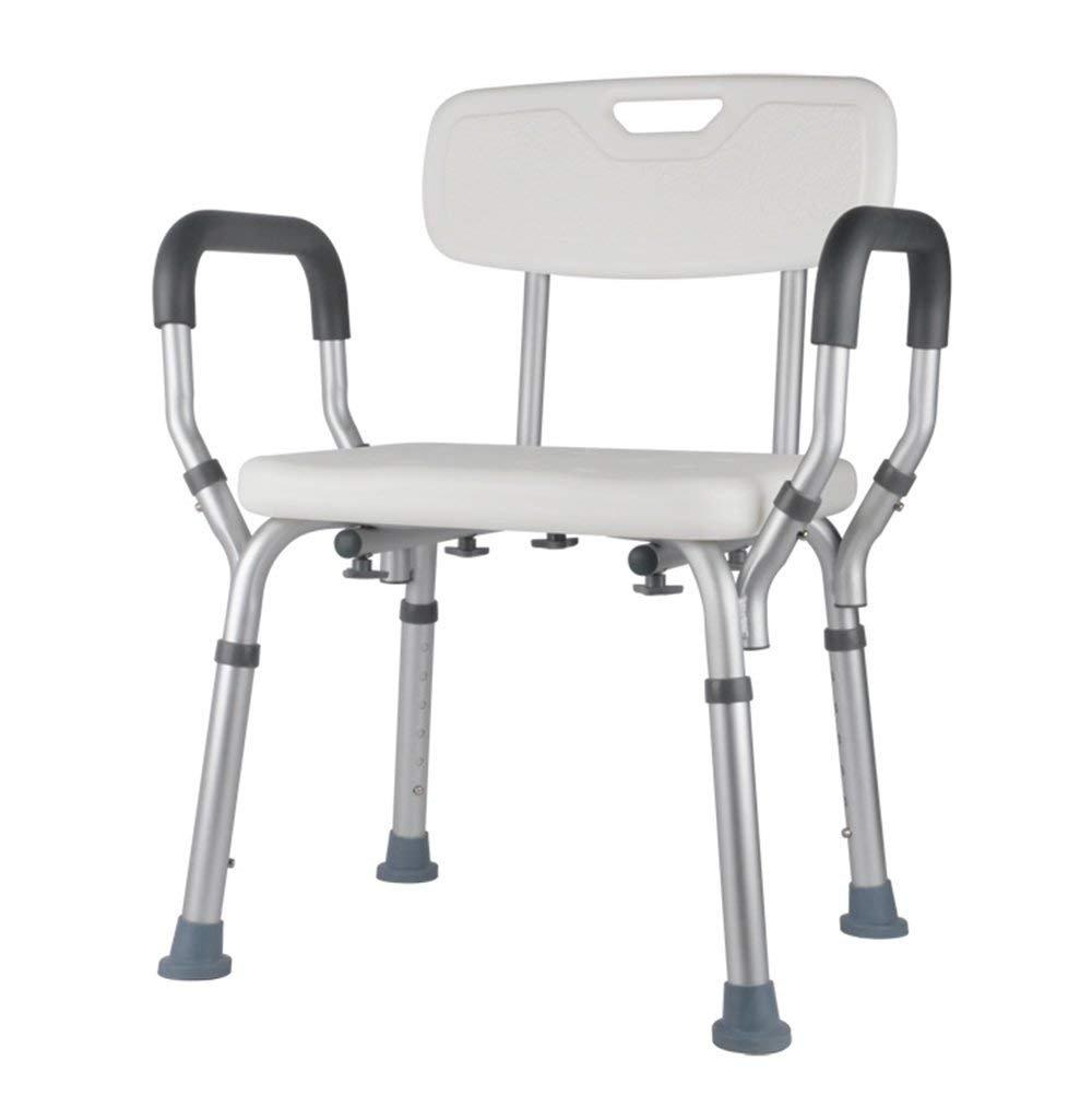 NAERFB Sillas de Baño para los Ancianos, Ducha sillas, Ducha sillas para discapacitados, Mujeres Embarazadas Ducha sillas,Baño Antideslizante de Aluminio ...