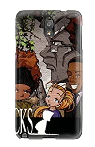 Shock-dirt Proof The Boondocks Cartoon Anime Cartoon Case Cover For Galaxy Note 3