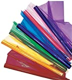 Pacon Cellophane Wrap, Blue (PAC73150) Category: Specialty Paper and Card Stock