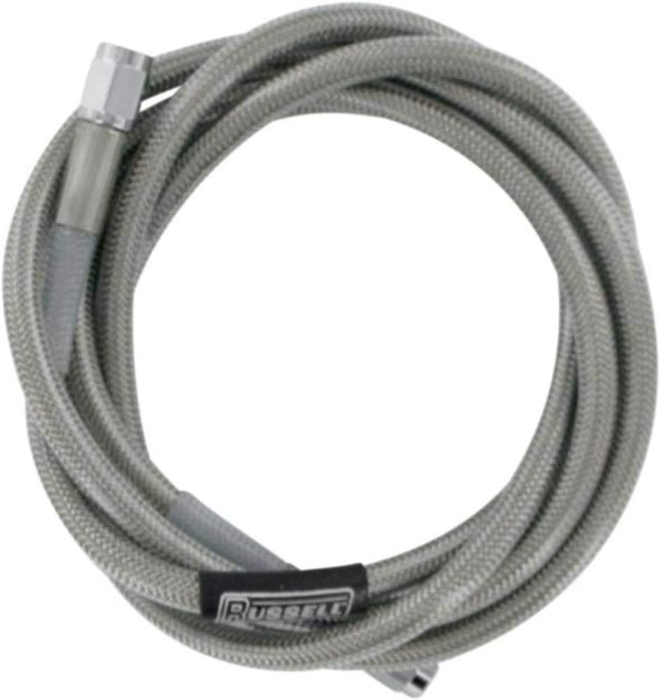 38in R58142S Russell Universal Braided Stainless Steel Brake Line