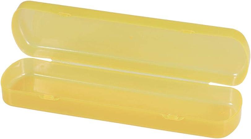 Estuche para cepillo y pasta de dientes de OUNONA, color naranja: Amazon.es: Hogar