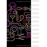 Libreta Pautada - Cuaderno de música, 12 pentagramas, 100 paginas 21 x 29,7 (Spanish Edition)