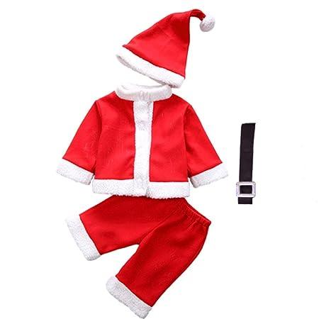 MGZDH Trajes de la Navidad de los niños Jugar Santa Claus ...