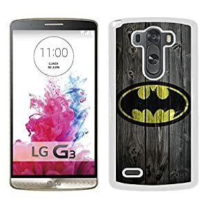 For LG G3,Batman 10 White Case Cover For LG G3