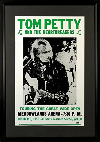 tom-petty-at-meadowlands-arena-concert-poster-framed