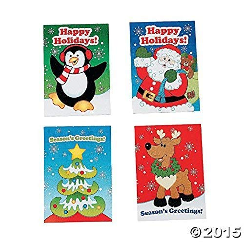 72 mini CHRISTMAS ACTIVITY BOOKS - Christmas toys and party favors Bulk Class Pack ()