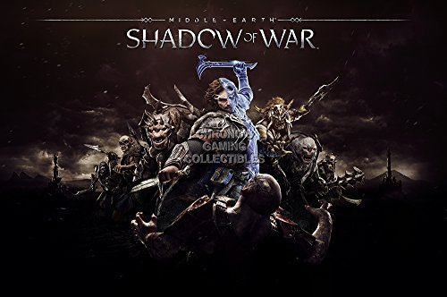 CGC Huge Poster - Middle-Earth Shadow of War Ps4