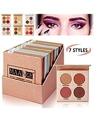 MAANGE Eyeshadow Palette 7PCs Pigmented Eyeshadow Palette...