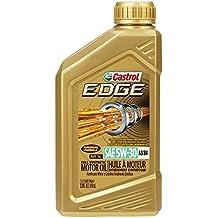 Castrol 06037 EDGE 5W-30 A3/B4 Advanced Full Synthetic Motor Oil, 1 quart