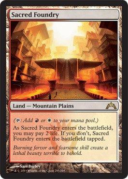 Magic: the Gathering - Sacred Foundry (245) - Gatecrash - Foil