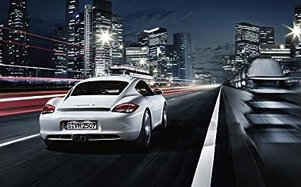Amazon Com 102 Porsche Cayman 22x14 Inch Silk Poster Aka Wallpaper