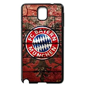 Generic Retro FC Bayern Munchen Logo Snap On Hard Plastic Case for Samsung Galaxy Note 3