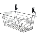 "Rubbermaid FastTrack Garage Storage Wire Mesh Basket, 24"", 1784453"