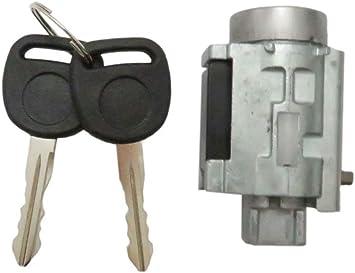 Ignition Lock Cylinder Tumbler w// 2 Keys+Lock Sensor Fit For 1999-2005 Pontiac Grand Am