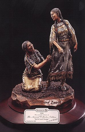 Legends Fine Art Spirit and Image Indian Mother and Daughter